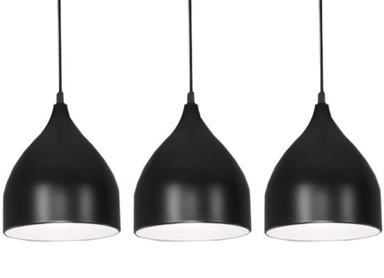 NOWOCZESNY LAMPA WISZĄCA sufitowa 2 kolory 1401-1 - W sklepie Led Solution