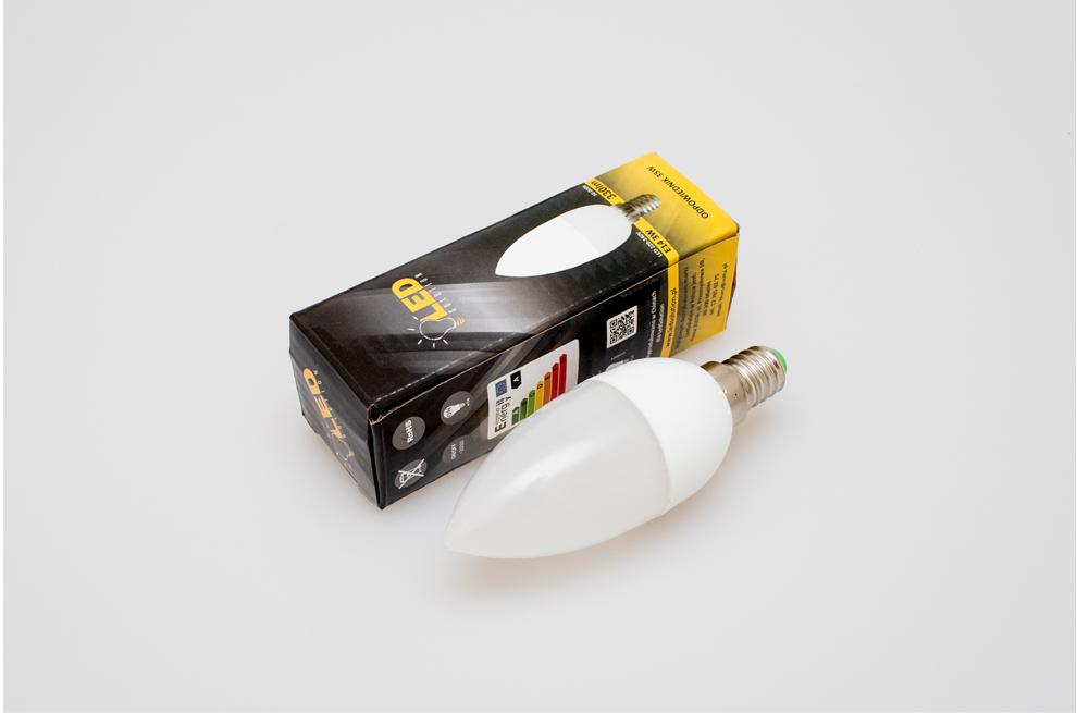 Żarówka E14 6 LED 3W 330lm - W sklepie Led Solution