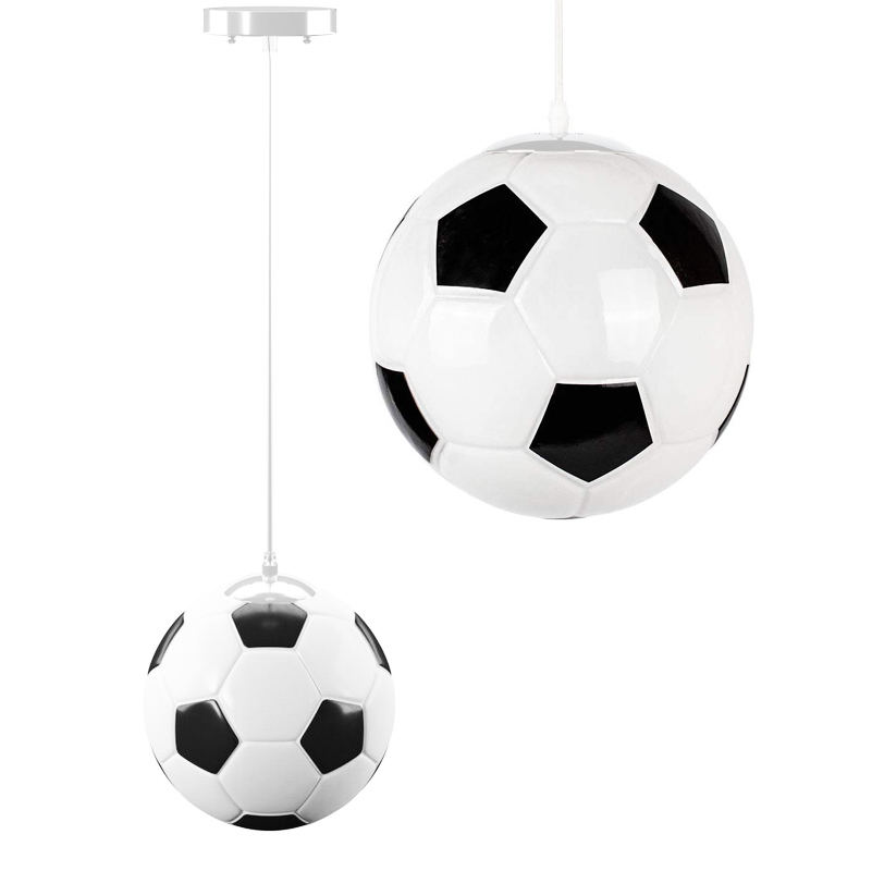 Żyrandol dla chłopca lampa wisząca dla dziecka piłka nożna
