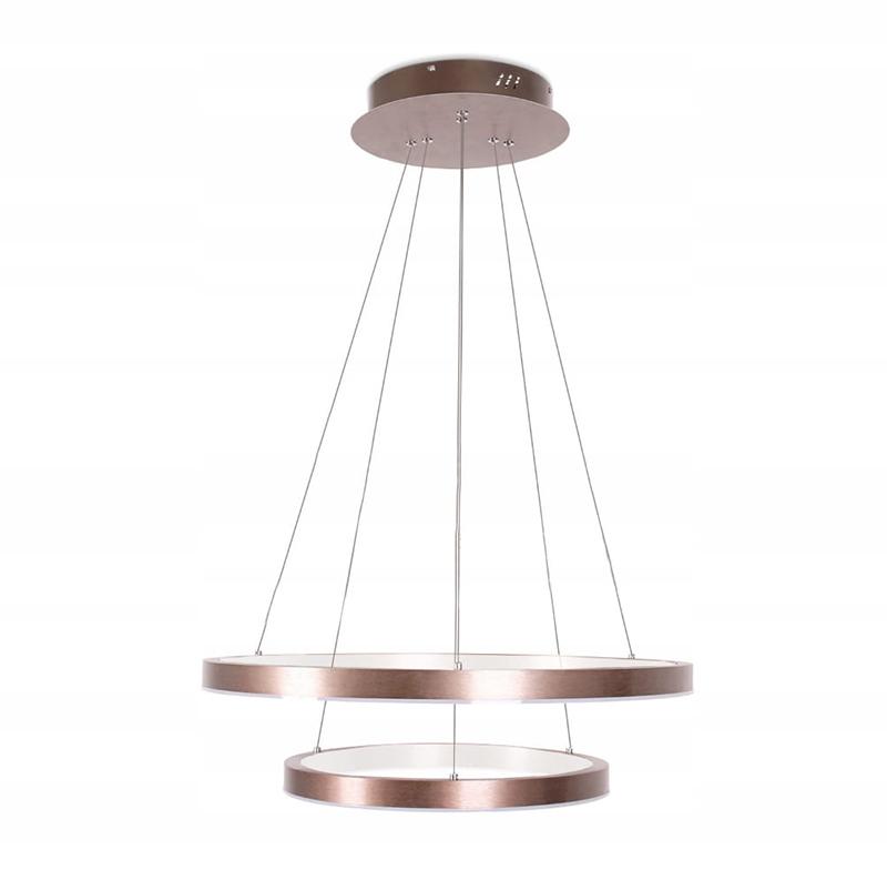 żyrandol ringi lampa okręgi obręcze żyrandol 38W złoty