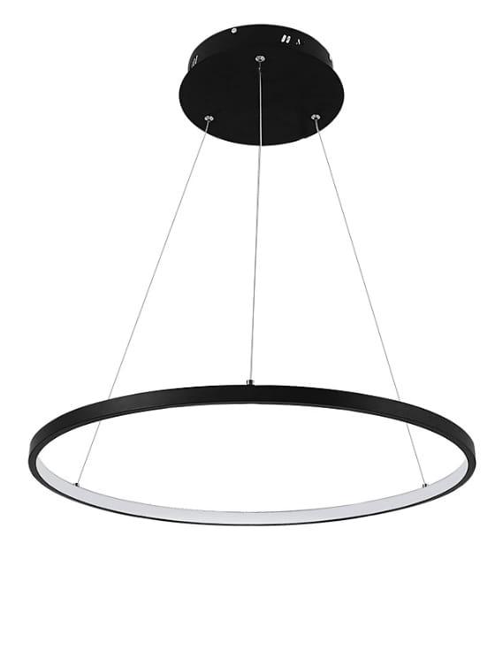 lampa wisząca żyrandol okręgi obręcz ring LED
