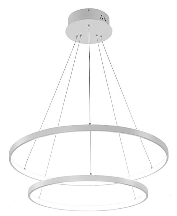 Żyrandol ringi lampa okręgi obręcze LED 20cm+ 40cm 38w