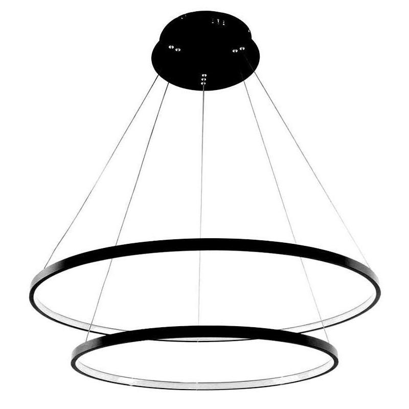 żyrandol ringi lampa okręgi obręcze żyrandol 63W