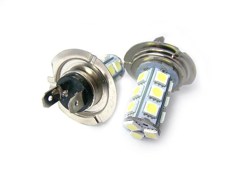 Żarówka H7 18 LED white LJ10 - W sklepie Led Solution