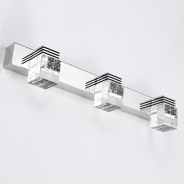 Kinkiet 9W 45cm Crystal Head x3  - W sklepie Led Solution