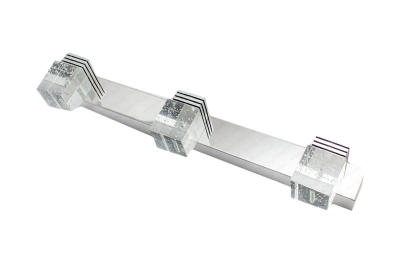 Kinkiet 9W 45cm Crystal Head x3
